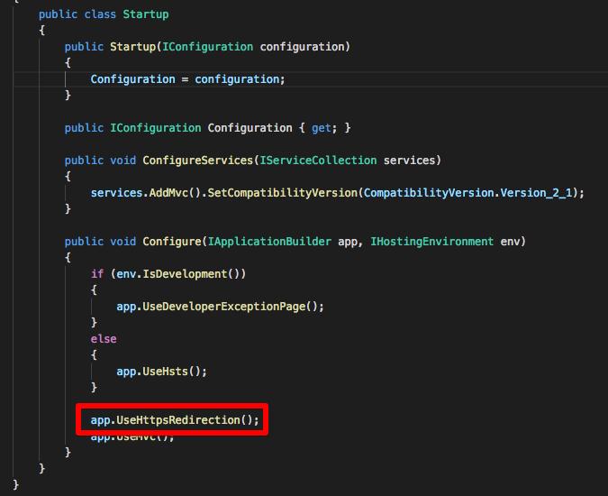 ASP.NET Core Web API 与 SSL